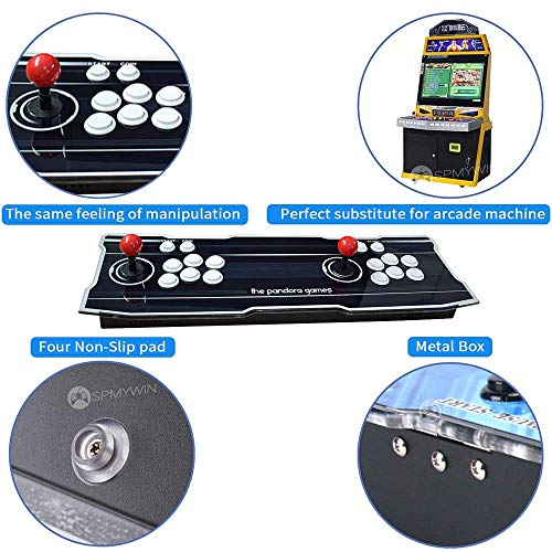 XFUNY Home Arcade Video Game Console 2350 in 1 Pandora Treasure 3D 1080P Arcade Machine with Arcade Joysticks for TV / Laptop / PC / PS4 by XFUNY (Image #4)