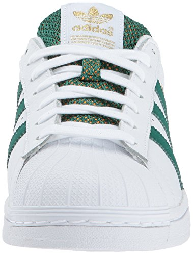 Adidas Originals Heren Superstar Ftwwht, Cgreen, Goldmt