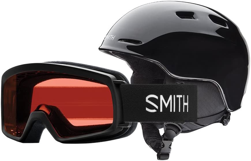 Smith Optics Youth Zoom Jr. / Rascal Combo Ski Snow Helmet