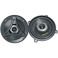Lanzar DCT5.2 Distinct Series 5.25-Inch 160-Watt 2-Way Coaxial Speaker, Set of 2