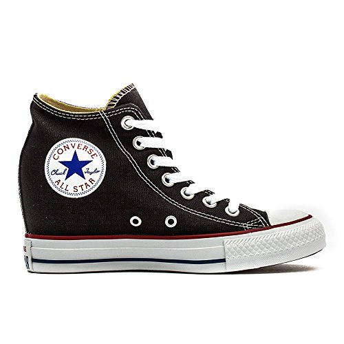 Converse Women s Chuck Taylor Lux Mid Black Basketball Shoe (5) - Buy Online  in UAE.  91510d0ba