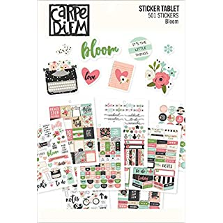 Carpe Diem by Simple Stories A5 Sticker Tablet - Bloom