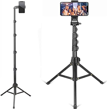 Zomei T80 Camera Tripod Smart Phone Stand//Holder for Selfie Live Streaming Video