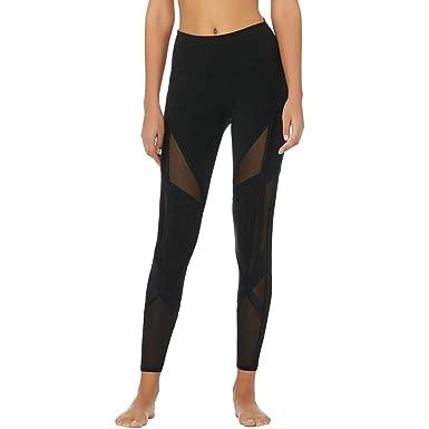 1ceb1012ee ALO Womens High-Waist Bandage Leggings at Amazon Women's Clothing store: