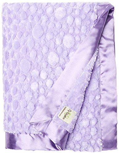 My Blankee Luxe Stone Throw Blanket with Flat Satin Border, Lilac, 59'' X85'' by My Blankee (Image #2)