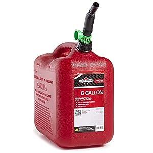 Briggs & Stratton 85060 6-Gallon Auto Shut Off Gas Can by Briggs & Stratton