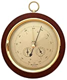 Fischer Barometer ''Pascal'' with Thermometer °F & Hygrometer, 7.9''/200 mm - 1694R-22 (US Version)