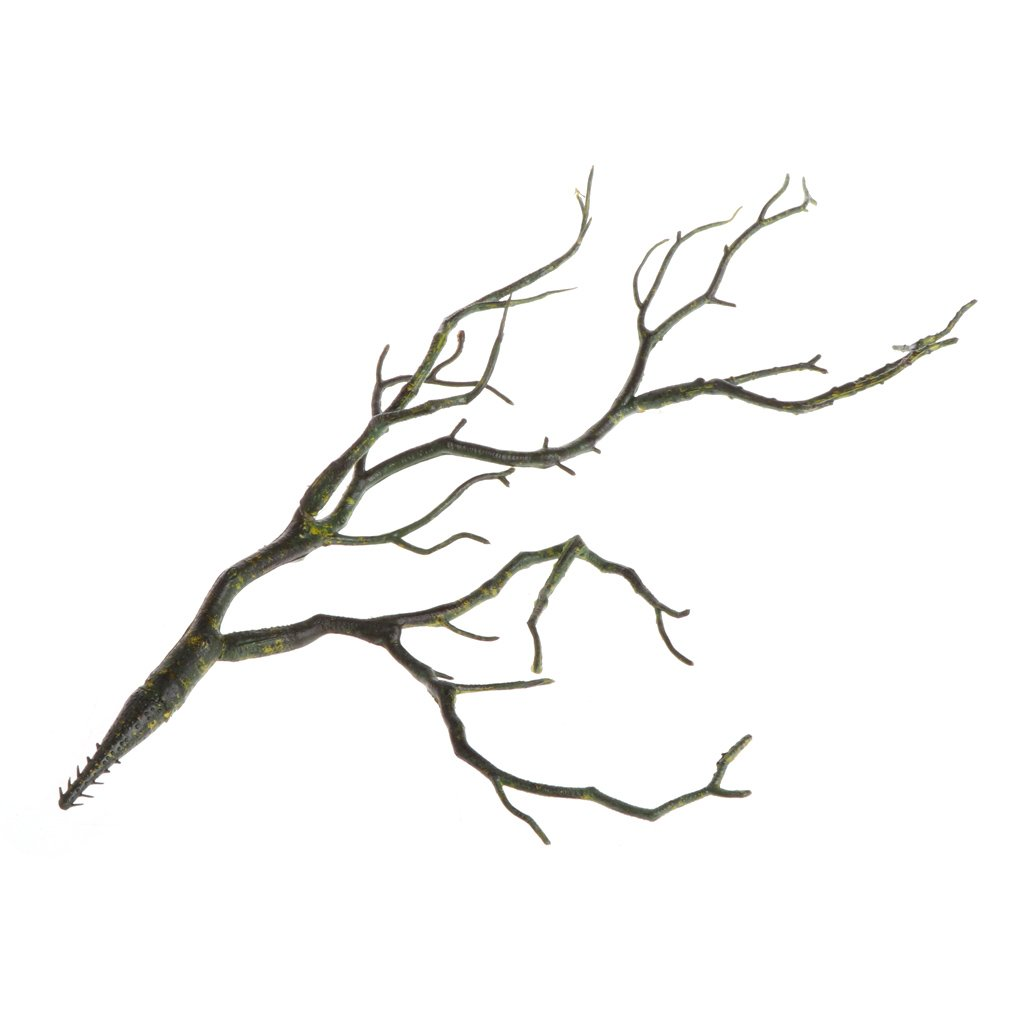 liyudl人工フェイクプラスチック人工植物Dried PeacockコーラルブランチツリーシミュレーションOrnaments間引きガーデンホームパーティーオフィスの装飾用とテーブルセンターピース グリーン B07BGT1NZ8 グリーン
