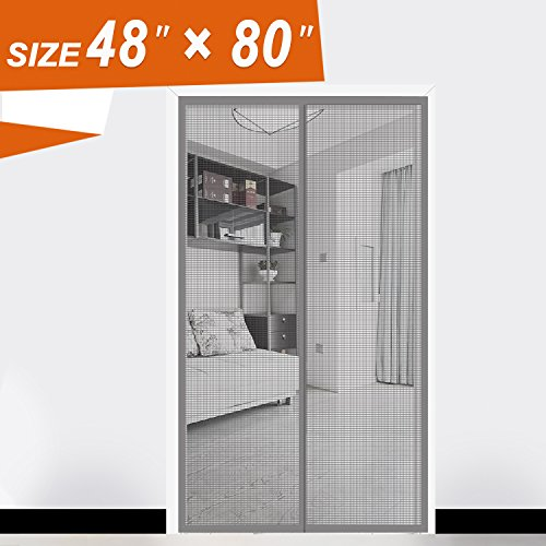 FIBERGLASS MAGNETIC SCREEN DOOR  High Quality Glass Fiber PVC, Adopt Flat  Weaving Technology, And After High Temperature Forming, Chemical Corrosion  ...