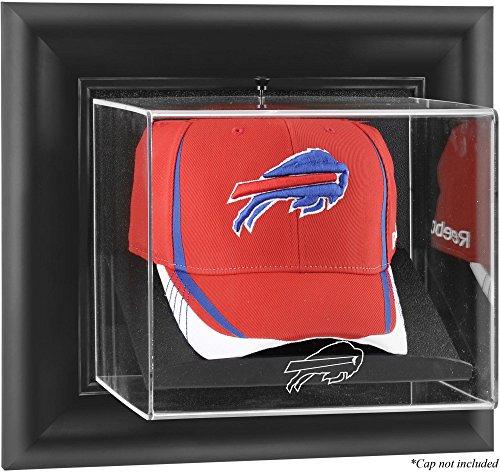 Buffalo Bills Framed Wall Mounted Logo Cap Display Case ()