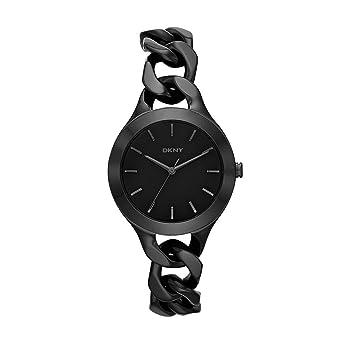 5b072baf08c Amazon.com  DKNY Women s NY2219 CHAMBERS Black Watch  DKNY  Watches