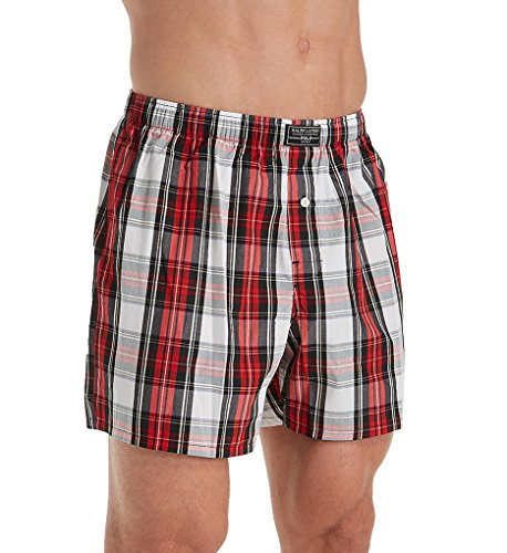 Polo Ralph Lauren Classic Woven Boxer, XL, Duke Plaid (Classic Boxer Plaid Mens)