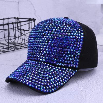 YSYNCAP Gorras Sombreros De Diamantes De Imitación De Las Mujeres ...