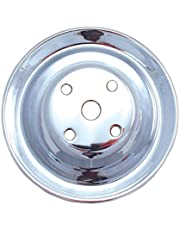 Spectre Performance 4418 Chrome Steel Pulley for Small Block Chevy