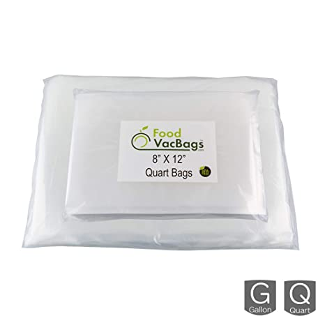 Amazon.com: 100 Bolsas. 50 Quart y 50 Gallon foodvacbags ...