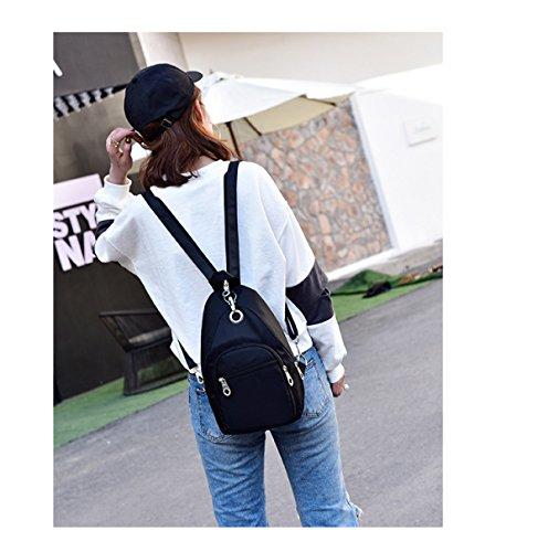 LAIDAYE Bolso De Hombro De Las Señoras Bolso De Nylon Del Mensajero Bolso De Viaje De Los Bolsos De Las Mujeres De Oxford Mini Bolsos Blue