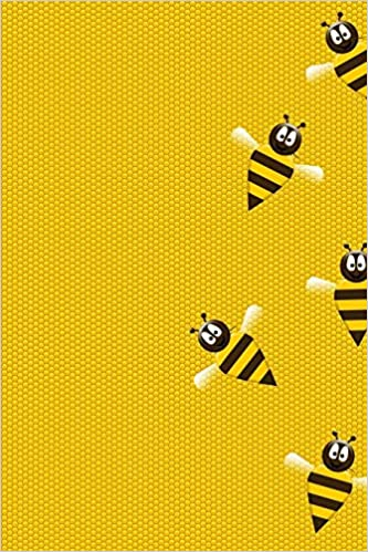 Amazon.com: Bee notebook: Blank Lined Journal Notebook ...