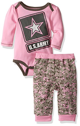 bentex-group-inc-baby-girls-us-army-creeper-and-pant-set-pink-6-9-months