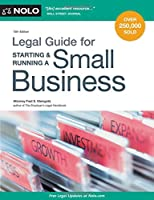 Legal Guide for Starting & Running a Small Business, 15th Edition Front Cover