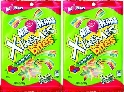Airheads Xtremes Bites Rainbow Berry (2 Pack) -