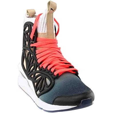 PUMA Women s Cage Mid Fade White Pearl 364752 01 (Size  ... 4ee07aed2