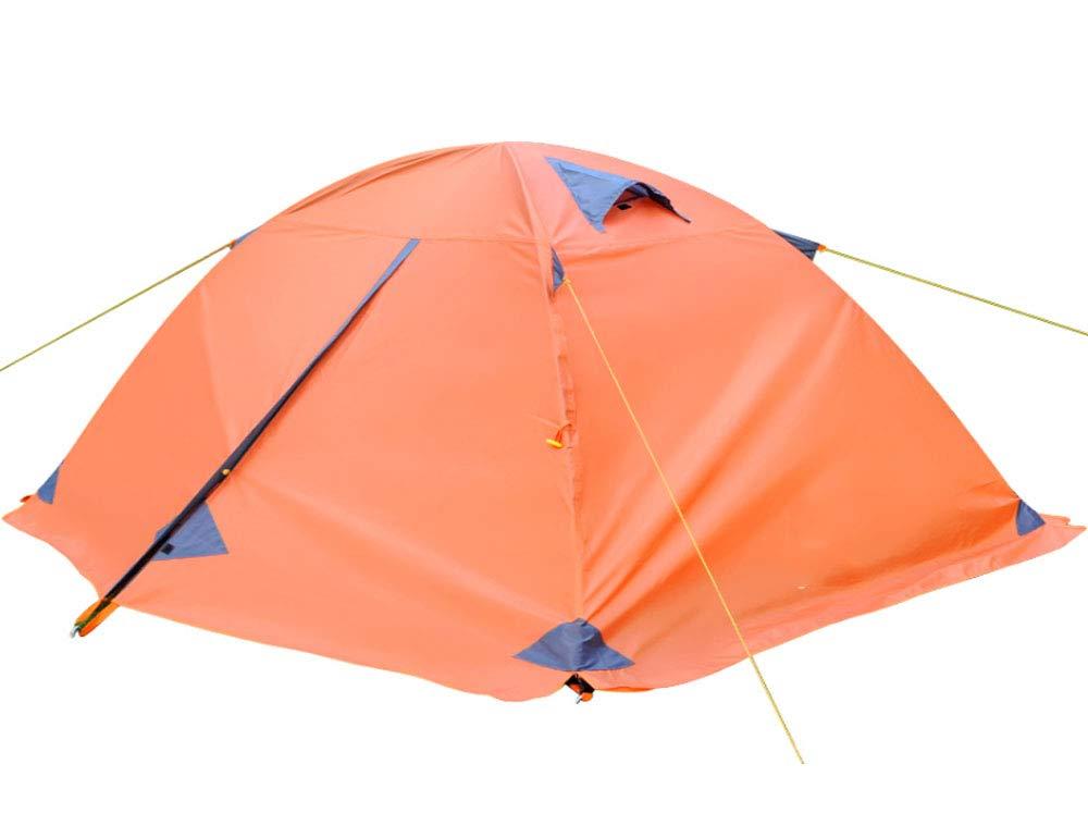 ZBW Automatisches Pop-Up-Zelt für 2 Personen, Doppeldecker, Camping Zelt Outdoor Wasserdicht Wandern Strand Zelt