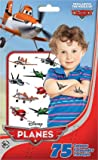Trends International TempTats Disney Planes Standard Tattoo 75 Count Bag