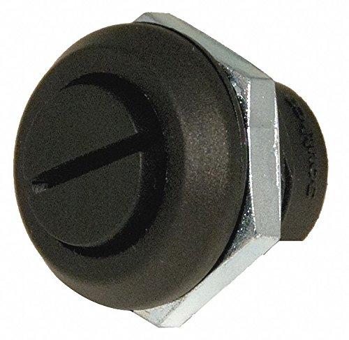 Cam Non-locking Cam Latch, 1-3/32 H x 2-5/16 W, Black Plastic Finish