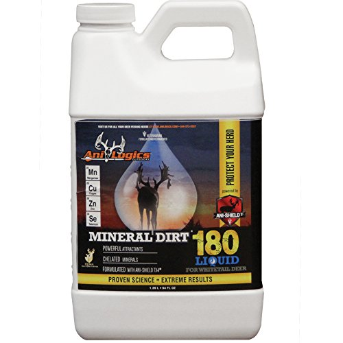 Ani-Logics Outdoors Liquid Mineral Dirt 180, 1/2 Gal - 8 PACK by Ani-Logics Outdoors (Image #1)