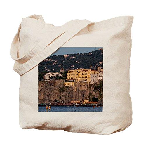 CafePress–Sorrento Italia–Gamuza de bolsa de lona bolsa, bolsa de la compra Medium caqui
