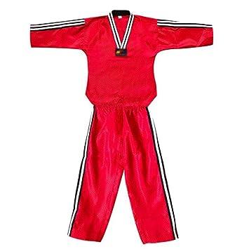 Manga larga traje de GI / traje de judo práctica transpirable ...