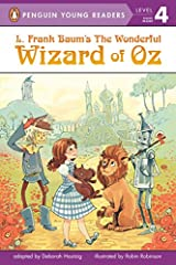 When a tornado hits her farmhouse in Kansas, Dorothy is caught up in a whirlwind of adventure, complete with flying monkeys, talking lions, and silver slippers. Advanced readers will join Dorothy, Toto, and her friends from Oz on an unforgett...