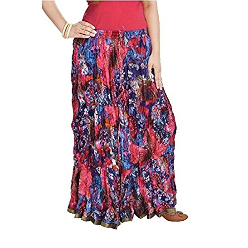 Handicrfats Women smskt577 Indian Cotton Full multi Length Export Skirt FHZq7xwS