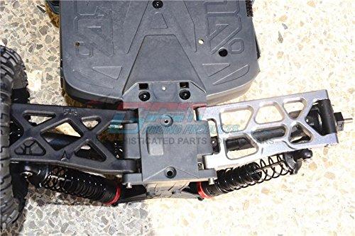 Big Rock Crew Cab 4x4 Upgrade Parts Aluminum Rear Lower Arms 1Pr Set Blue GPM Arrma Granite 4x4