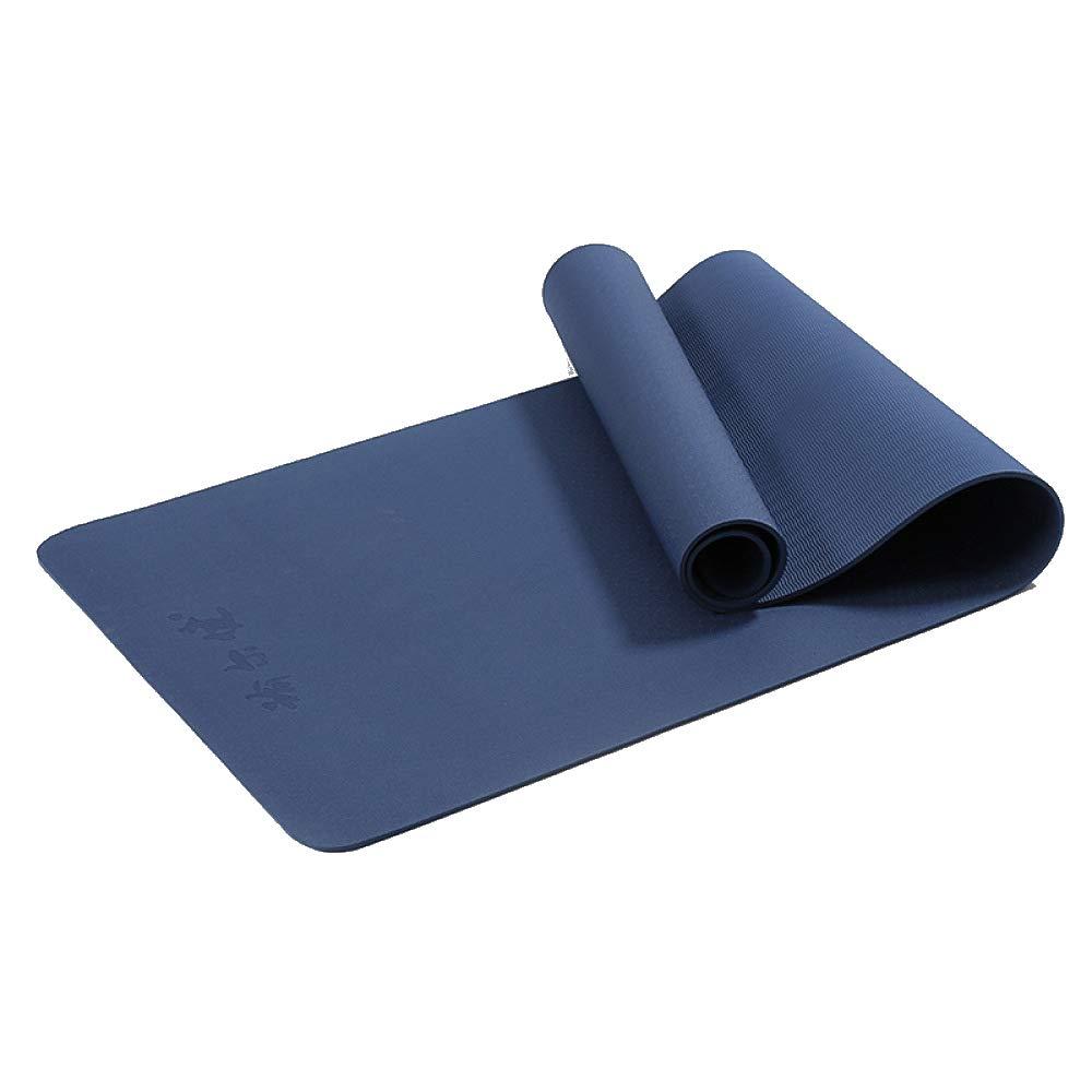 QJKai TPE Yogamatte Monochrome Fitnessmatte Outdoor Camping Yogamatte 6mm