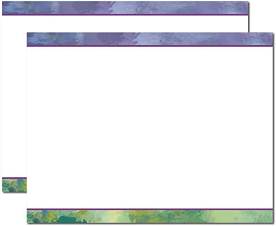 Silver Marble 32lb Stock 100 Pack Blank Designer Trifold Brochure