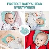 Newborn Baby Head Shaping Pillow,Preventing Flat
