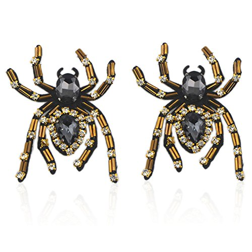 QTMY 1 Pair Handmade Shoe Decoration DIY Crafts Findings Accessories (Spider)