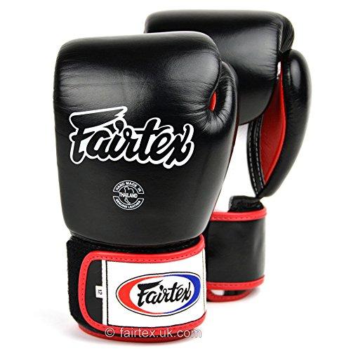 Fairtex Muay Thai de boxe Bgv1/3-tone Noir Gants