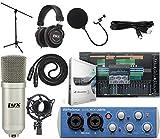 Presonus AudioBox 96 USB 2.0 Audio Interface Studio Bundle with Studio One Artist Software Pack