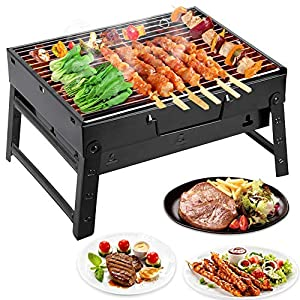 Mbuynow Charcoal BBQ for Table