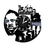 Olha Art Design The Godfather vinyl clock The Godfather wall decor The Godfather mafia The Godfather movie The Godfather videogame The Godfather fan gift