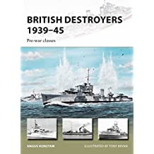 British Destroyers 1939–45: Pre-war classes