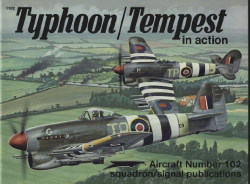 Typhoon/Tempest in action - Aircraft No. 102