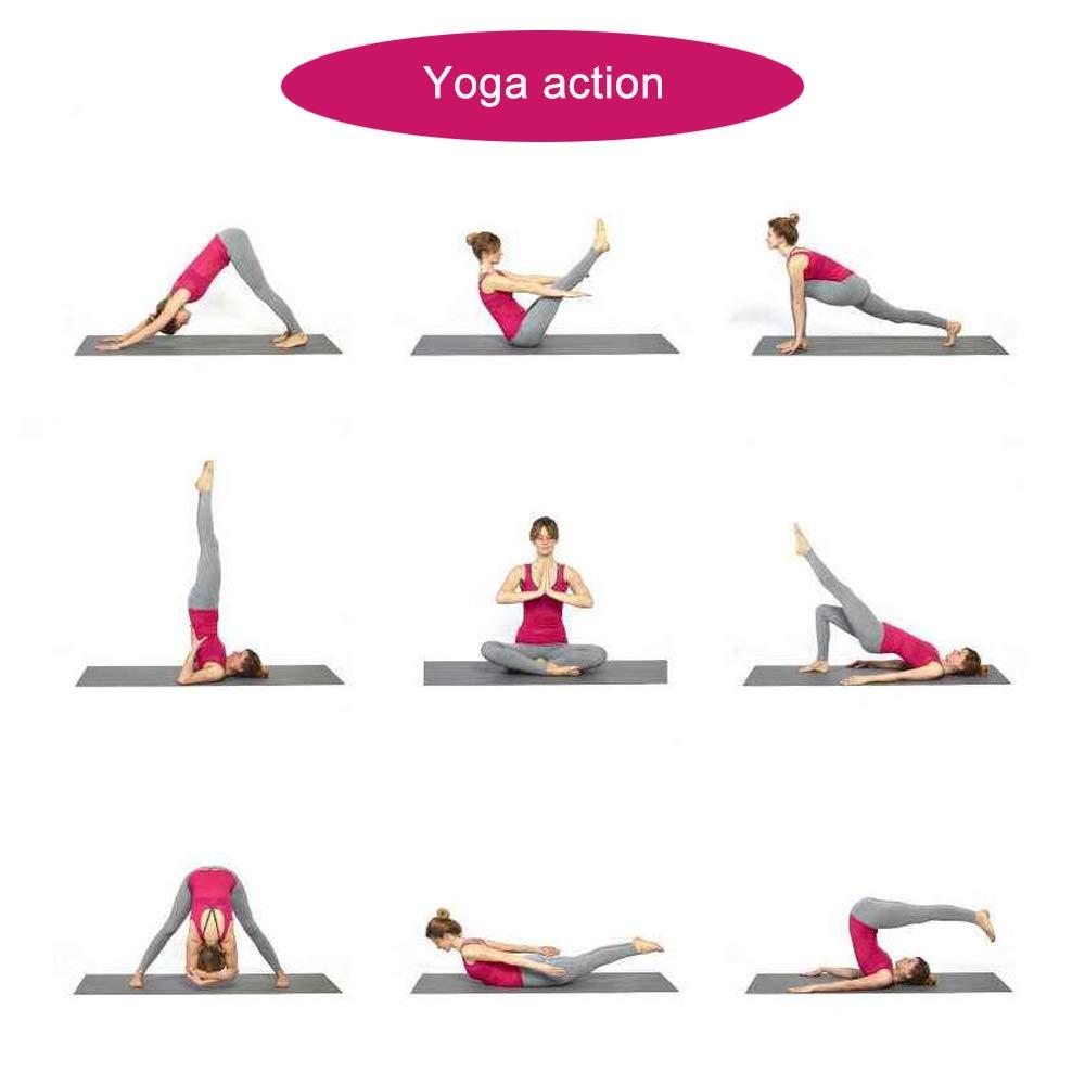 Amazon.com : Grist CC Yoga Mat Suitable for Goat Yoga 6mm ...