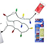 Christmas cable iphone 5/5S/6/6S/6+ Charger Colored Mini Christmas lights