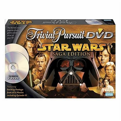 (Trivial Pursuit Dvd Star Wars)