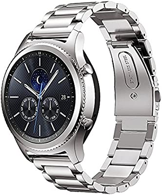MroTech Bracelet Montre 22 mm Compatible pour Samsung Gear S3 Frontier/Classic, Galaxy Watch