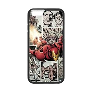 iPhone 6 Plus 5.5 Inch Cell Phone Case Black Marvel comic 005 Delicate gift AVS_628918