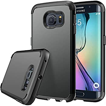 samsung s6 edge. galaxy s6 edge case, e lv (shock proof defender) samsung